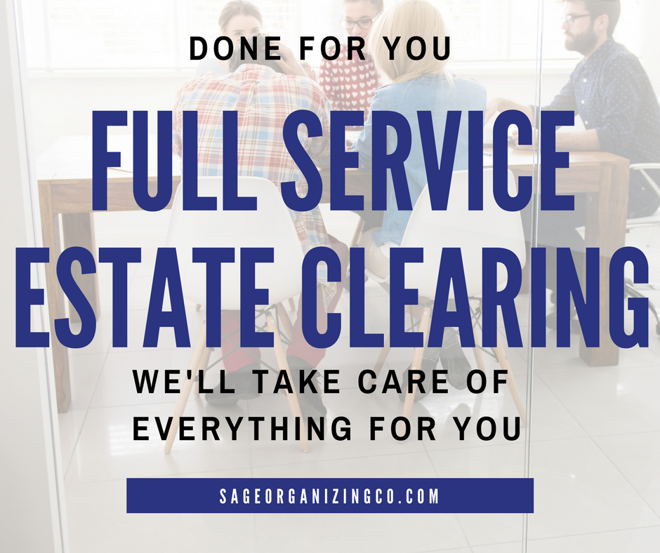 Get Help Estate Clearing Clean Out Downsizing Charlotte, NC